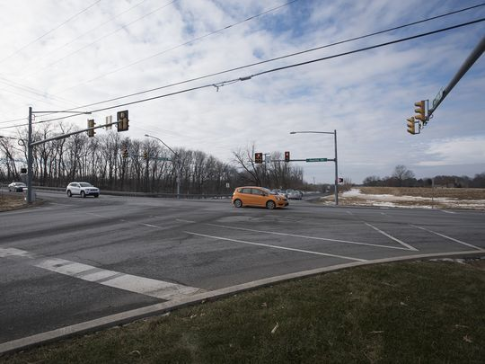 N. Cornwall intersection now underway